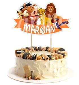 Decoration-gateau-cake-topper-le-roi-lion-anniversaire-prenom-et-age