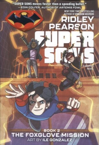 SUPER SONS BOOK 2 THE FOXGLOVE MISSION TPB DC ZOOM