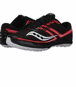 Details about Saucony Men's Kilkenny XC7 Flat BlackRed Athletic Shoe Sz 7.5 NEW
