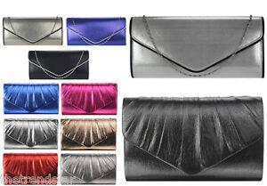 Womens-Clutch-Bags-Ladies-Evening-Prom-Party-Wedding-Evening-Bridal-Handbags-New