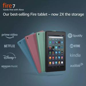 NEW-Amazon-Fire-7-Tablet-16-GB-9th-Gen-Black-Blue-Plum-Sage-ALL-COLORS
