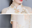 Women-039-s-Chinese-Style-Slim-3-4-Sleeve-Floral-Retro-Long-Qipao-Cheongsam-Dress-US thumbnail 8