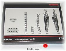 Märklin 8193 Gare Sgleis Pack T2 #Neuf Emballage D'Origine