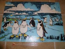 Paul McCartney Wings Fun Club Sandwich Poster 1979 Penguins Beatles