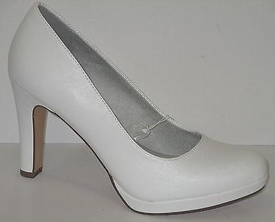Tamaris Schuhe Damen Pumps HOCHZEITSCHUHE BRAUTSCHUH+NEU+ 1 22426 28 100 | eBay