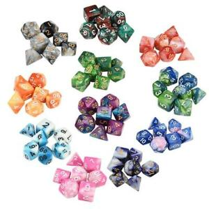 7pcs-Set-TRPG-Game-Dungeons-amp-Dragons-Polyhedral-D4-D20-Multi-Sided-Acrylic-Dice