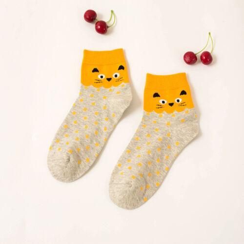 Fashion Socks Women Thick Lips Warm Funny Socks Candy Color Harajuku