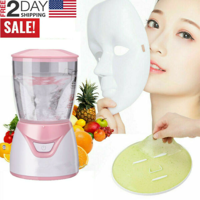 Face Mask Maker Machine 12 Collagen Capsules Homemade Diy Fruit Vegetable For Sale Online Ebay