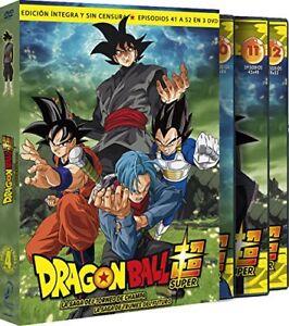 DRAGON BALL SUPER BOX 4 SAGA TORNEO DE CHAMPA DVD 41-52 NUEVO ( SIN ABRIR )