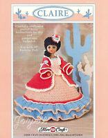 Claire, Fibre-craft Crochet Patterns For 15 Fashion Dolls