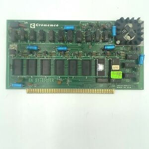 Vintage Cromemco 8K Bytesaver Computer Board Card UNTESTED found with Altair