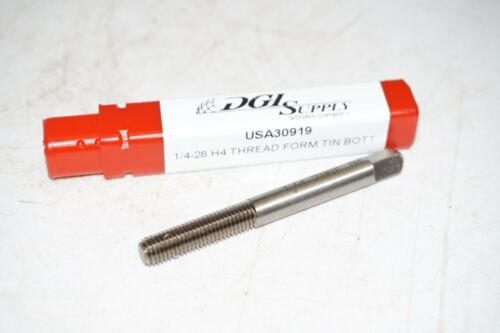 new TITAN 1//4-28 H4 GH4 HSS Thread Forming BOTTOMING Tap roll form Made in USA