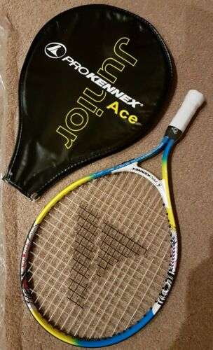"19"" Children's Tennis Racket Pro Kennex ACE Jnr With Cover NEW"