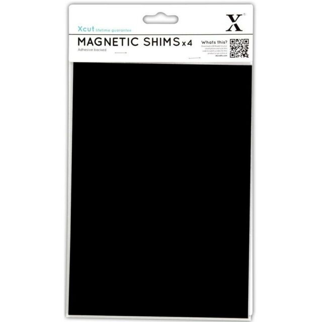 DOCRAFTS XCUT A5 MAGNETIC SHIMS SHEETS PACK OF 4 - FITS ALL DIE CUTTING MACHINES
