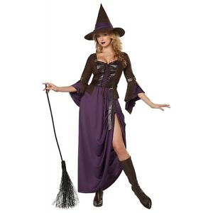 Witch Costume for Women Adult Halloween Fancy Dress