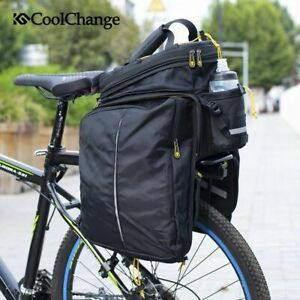 Rear Seat Rack Storage Trunk Bag Pouch Handbag Pannier MTB Bike Bicycle Accesary