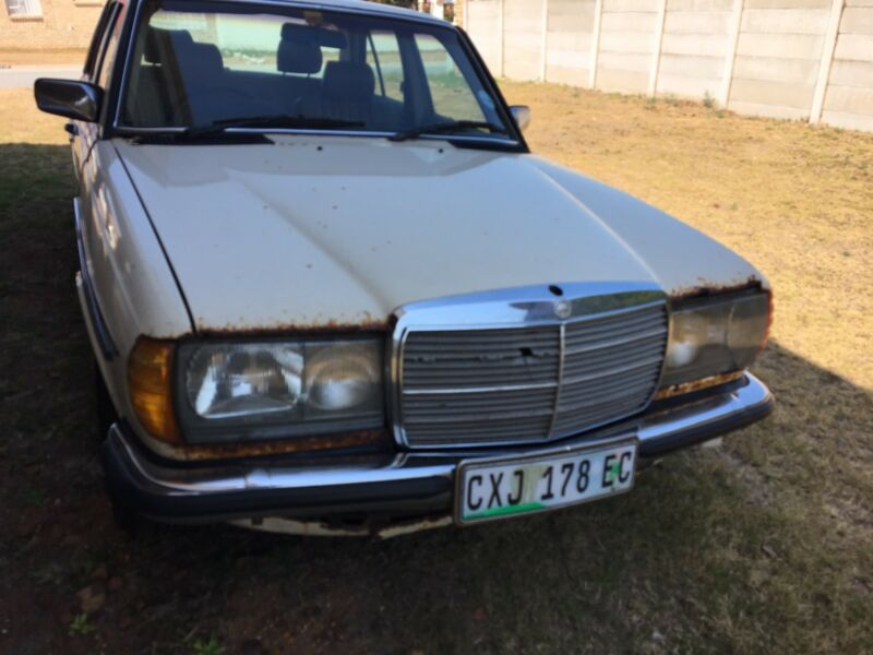 JUST ARRIVED FOR STRIPPING; 1986 Mercedes-Benz 230e w123