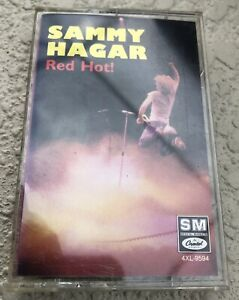 Sammy Hagar - Red Hot! 1987 Cassette Tape Authentic Fast Shipping