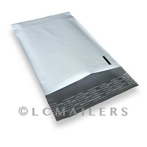 100-Each-6x9-9x12-Poly-Mailers-Shipping-Envelopes-Self-Sealing-Bags-PACKZON