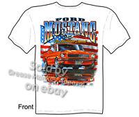 Ford Mustang T-shirt, Mustang Tshirts, 64 65 66 67 68 69 Tee, Sz M L Xl 2xl 3xl