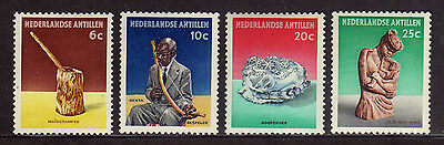 Stamps Imported From Abroad Holanda Antillas/netherlands Antilles 1962 Sc.276/279 Culture Netherlands & Colonies