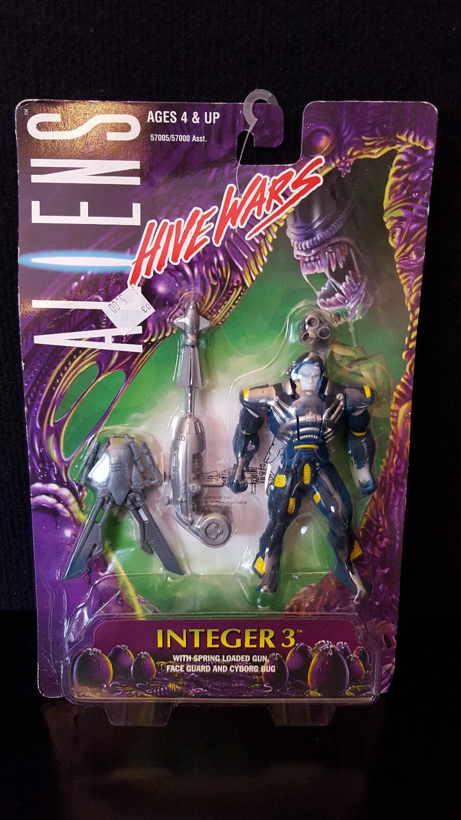1998 Kenner Aliens Vs. Predator AVP Hive Wars Integer 3 Cyborg 5  Action Figure