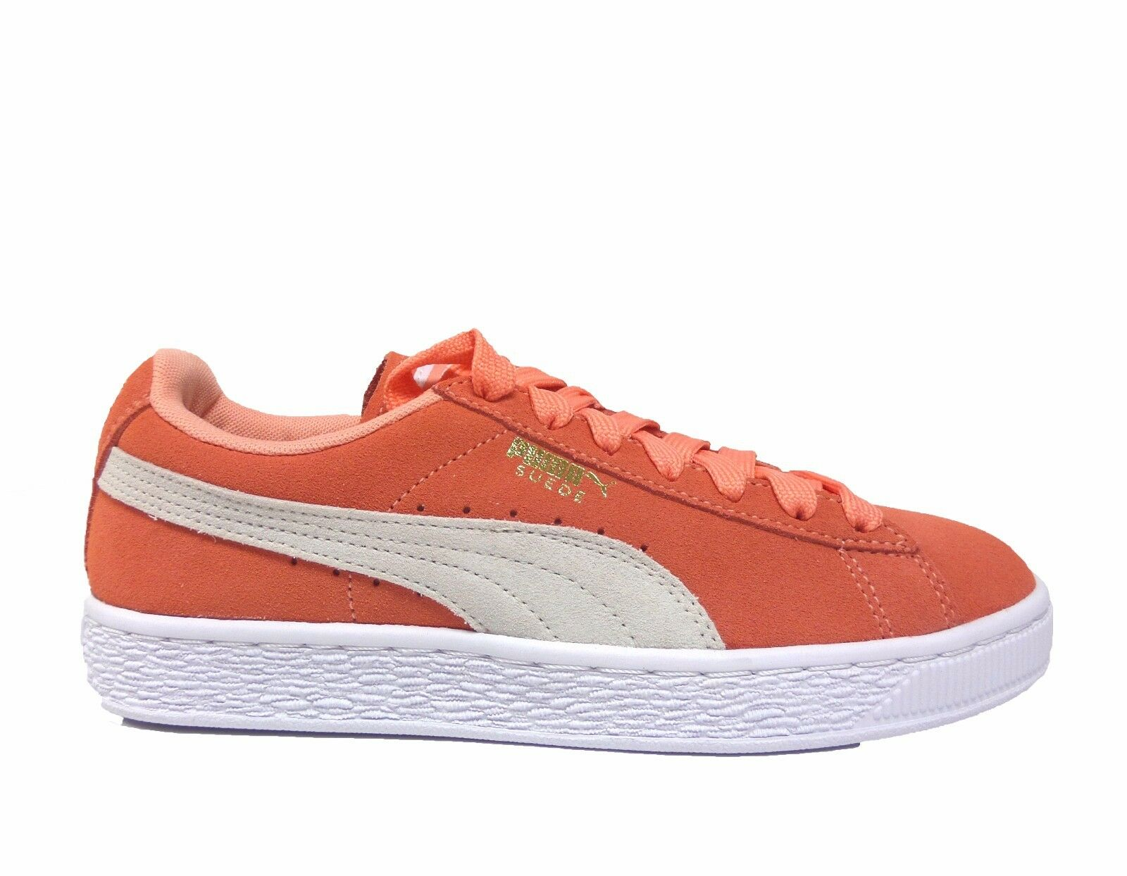 Puma Donna  SUEDE CLASSIC scarpe scarpe scarpe Desert Flower bianca 355462-33 a edec56