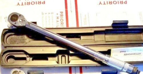 """1//2/"""" Torque Wrench Snap Socket Professional Drive Click Type Ratcheting"""