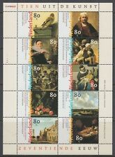 Niederlande 1999 ** Mi.1720/29 Klbg. Gemälde paintings Rembrandt [st2544]