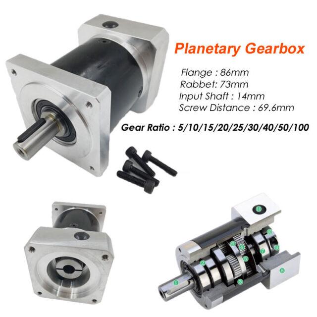 Gearhead GAM Gear FP Precision 16:1 Inline Planetary Gearbox Servo Reducer!