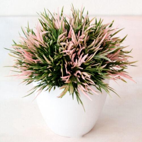 Artificial Flowers Bonsai Fake Plant Flower Potted Home Garden Office Desk Decor