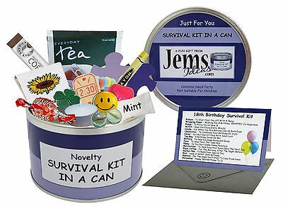 SURVIVAL KIT IN A CAN. Gift For Him/Her