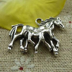 free-ship-50-pieces-tibetan-silver-horse-charms-30x23mm-3949