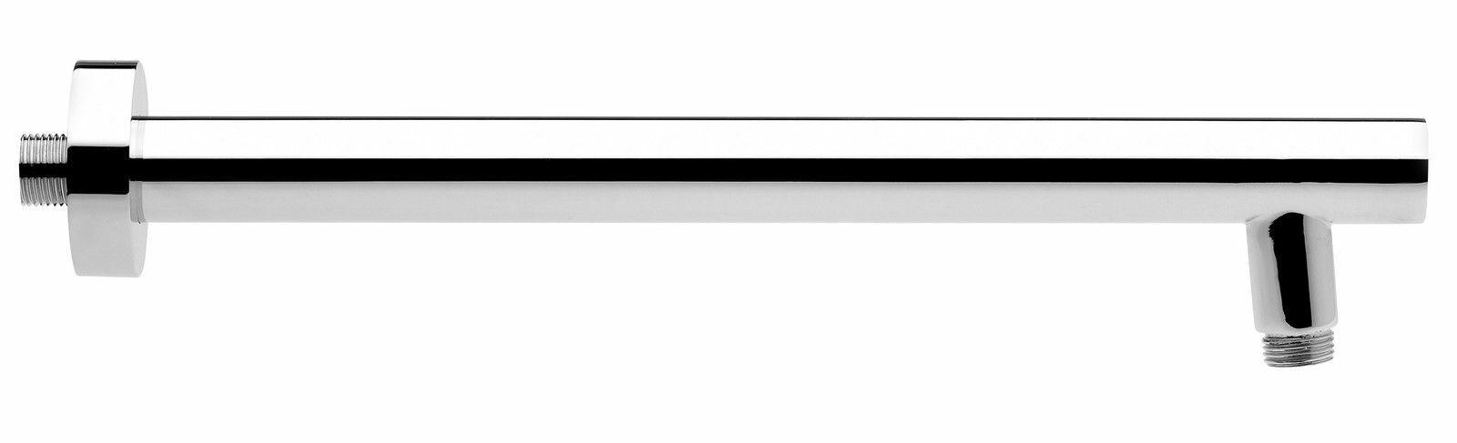 Design Wandarm Zulaufarm für Duschkopf massiv Metall Chrom von Fromac 6661