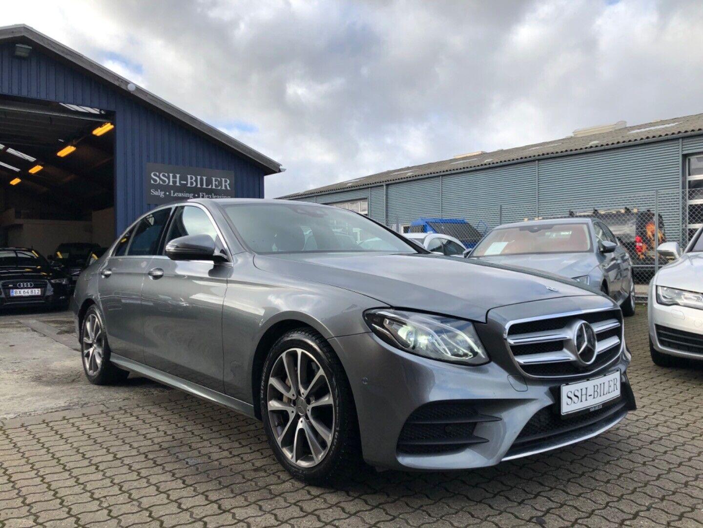 Mercedes E350 d 3,0 AMG aut. 4d - 2.295 kr.