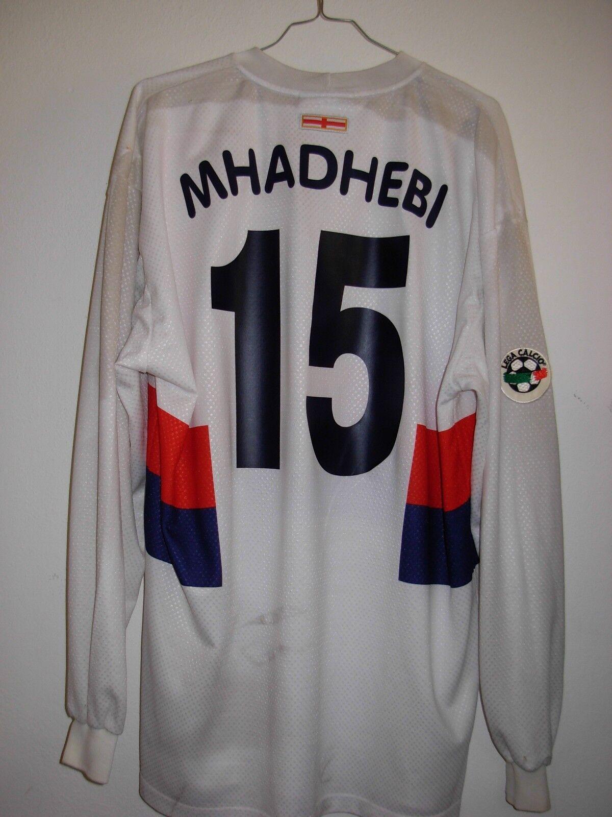Maglia calcio genoa mhadhebi errea nr 15 Dimensione XXL