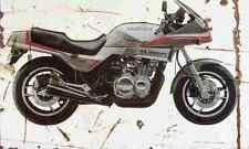 Suzuki XN85Turbo 1984 Aged Vintage SIGN A3 LARGE Retro