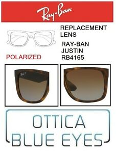 Lenti-di-Ricambio-RAYBAN-JUSTIN-RB4165-filtri-Replacement-Lenses-Ray-Ban-POLART5