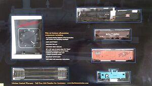 Bachmann-01125-Set-USA-The-Frontiersman-Rock-Island-Lok-3-wagons-1-87