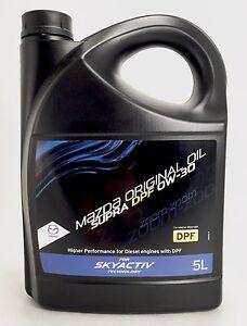 10l mazda original oil supra dpf 0w 30 mit lfilter bosch mazda cx 5 2 2diesel ebay. Black Bedroom Furniture Sets. Home Design Ideas