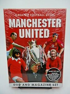 Greatest-Football-Clubs-Manchester-United-DVD-and-Magazine-Set-NEW