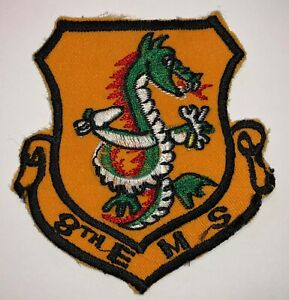 LAST FEW US Air Force 4th Equipment Maintenance Squadron Embroidered Patch