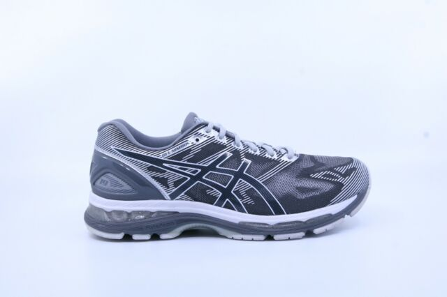 competitive price 09400 2b0e2 Asics T702N-9701 Men's Gel-Nimbus 19 Running Shoes-Carbon/White/Silver-US 9  [4E]