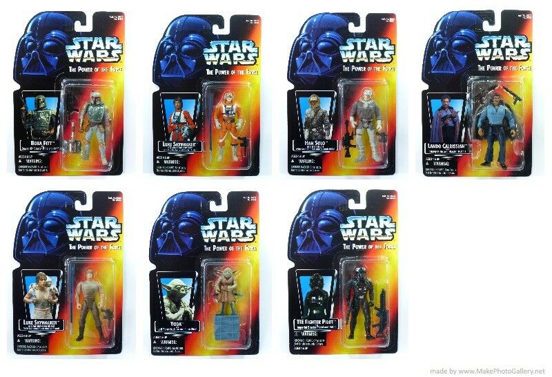 Star Wars POTF2 Carded Set MOMC 1995