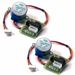 2pcs-28BYJ-48-DC-5V-Stepper-Motor-ULN2003-Driver-Test-Module-Board-for-Arduino