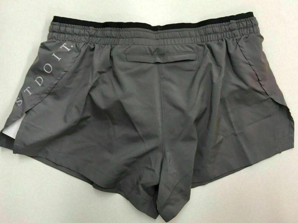 Nike Elevate 7.5 Cm Femmes Shorts De Course, Petit-gris Neuf - 895823-036