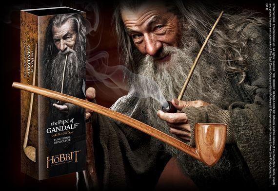 Der Hobbit Eine unerwartete Reise Replik 1//1 Gandalfs Pfeife 23 cm