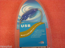 USB 2.0 PC to PC Netwok File Transfer Link Cable, New