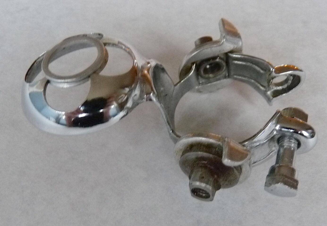 Campagnolo Shifter Nuovo & Super Record Clamp W  Attached Pump Clip Vintage NOS