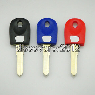 3 pcs Blank Key Uncut for Ducati Monster Super Sport Touring Motorcycles